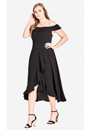 City Chic Plus Size Dresses Mercari
