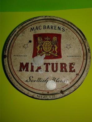 Vintage Mac Barens Mixture Tobacco Tin for sale