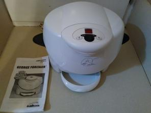 George Foreman Roaster and Contact Cooke, used for sale