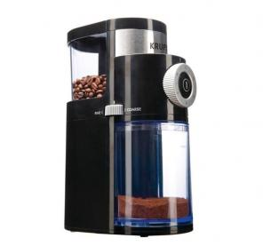 Used, Krups Flat Burr Coffee Grinder for sale