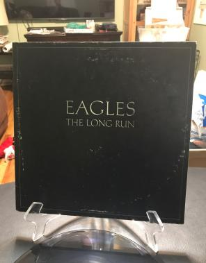 Used, EAGLES THE LONG RUN Record Album for sale