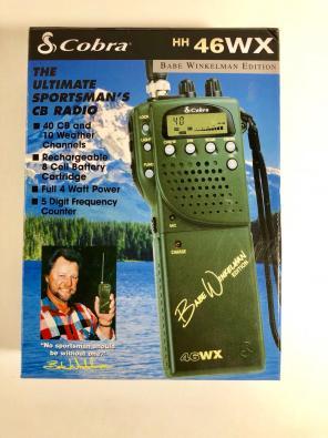 Used, Cobra 46 WX CB Radio Handheld for sale