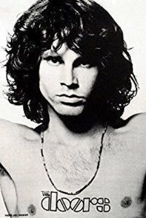 Used, TheDoors Jim Morrison Wall Tapestry/Flag for sale