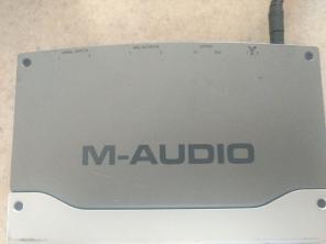 M-Audio firewire solo recording interfac, used for sale