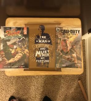 Comics+Uncharted 4 Poster for sale