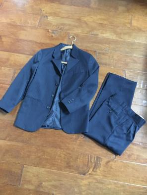 Boys Navy Dockers Suit Set Pants Jacket for sale