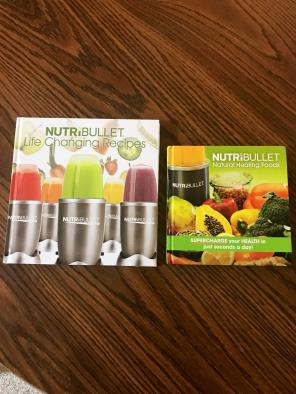 Nutribullet Recipe Books for sale