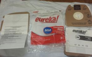 Eureka Vacuum Bags #60925C 3 count for sale
