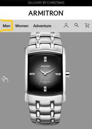 Armitron watches for men mercari armitron stainless steel men silver watch fandeluxe Gallery
