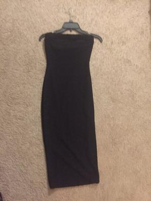 Love culture long black dress