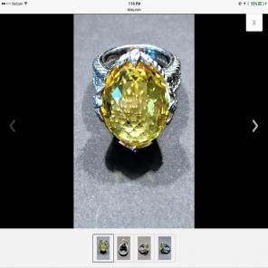 Judith Ripka 3 4 Cwwt Diamonique Cuff Mercari Buy