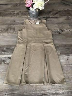 Land's End Girl's Khaki Uniform Jumper for sale