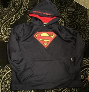 under armour superman hoodie