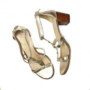 c6dacff8b23b Jack Rogers • Gold Strappy Dress Sandals