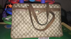 Vintage Gucci Laptop Bag for sale