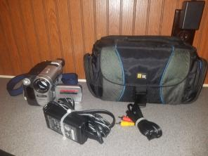 Sony CCDTRV138 Analog Camcorder Untested for sale