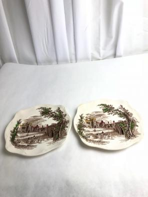Used, Johnson Brothers Haddon Hall Salad Plate for sale