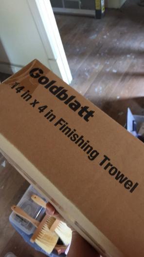Goldblatt Finishing Trowel for sale