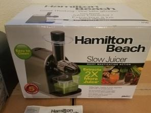 Hamilton Beach  Masticating Juicer NEW!! for sale