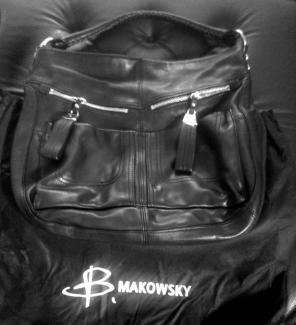 B Makowsky Handbag