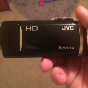 JVC Everio Camcorder and case for sale