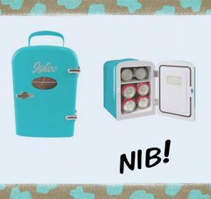 NIB Igloo Mini Fridge + AC & DC adapters for sale