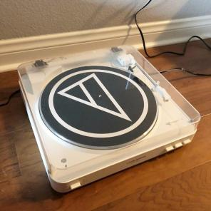White Audio Technica Turntable for sale