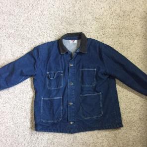 b3de2b27 Bob Barker prison wear denim jacket for sale
