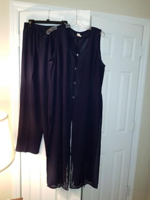 Used, Woman's dress pant suit for sale