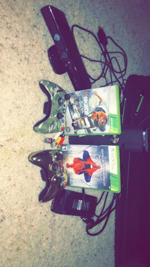 Xbox 360 Slim Kinect Bundle for sale