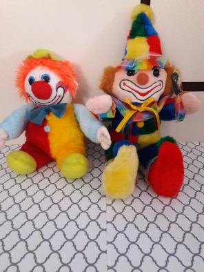 Vintage Cuddle Wit Deluxe Circus Clown for sale
