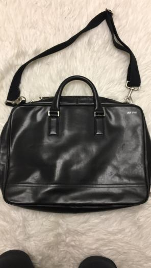 Jack Spade Leather Carry Bag for sale