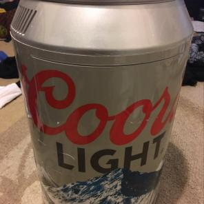 Coors Light Can Mini Fridge for sale