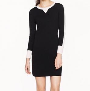 Used, J.Crew Wool Sweatshirt Knit Shift Dress for sale