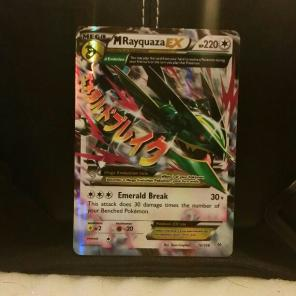 Used, M Rayquaza EX (Roaring Skies) for sale