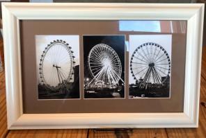 Ferris Wheel Letter Art for sale