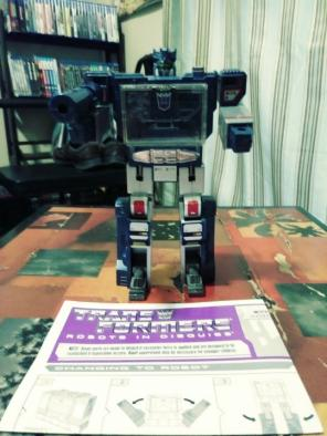 Transformers G1 Soundwave Reissue, used for sale
