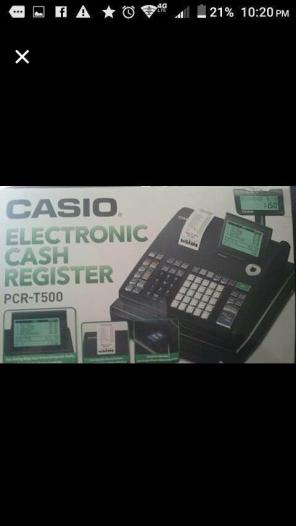 Used, Casio Electronic Cash Register for sale