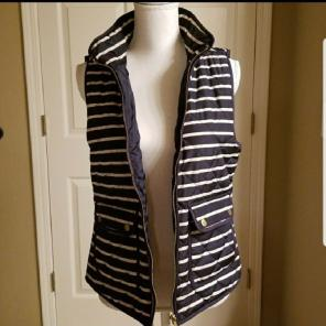 Stripe Vest (like the J Crew Excursion) for sale
