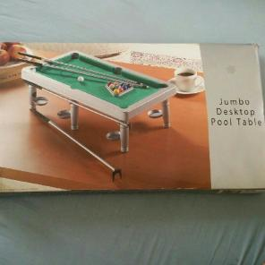 Jumbo Desktop Pool Table for sale