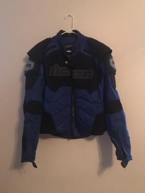 Icon Timax Motorcycle Jacket Large, used for sale