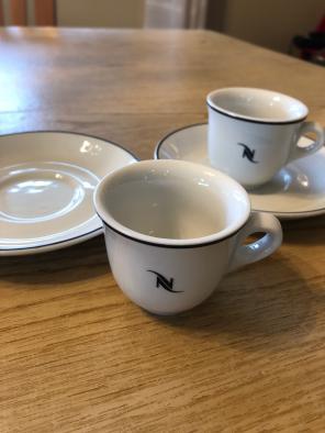 NESPRESSO ESPRESSO COFFEE CUPS for sale