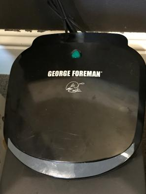 George Foreman Grill & Panini Press for sale
