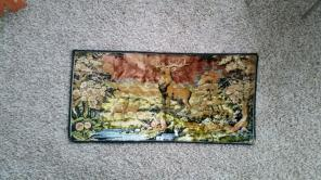Native deer tapestry for sale