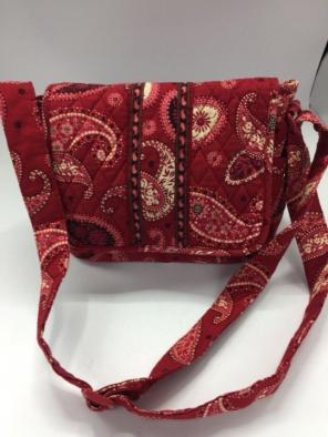 Vera Bradley Red Mesa Crossbody Purse