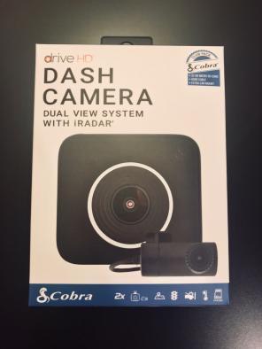 Cobra Dash Camera Dual View System for sale