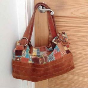 Fossil Patchwork Modern Vintage Handbag
