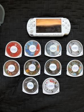 Sony PSP (Star Wars Edition) *withGames for sale