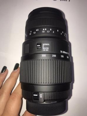 Used, Sigma DG 70-300mm Lens For Nikon for sale