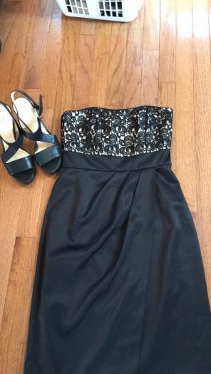 White House Black Market Pleated Skirt Dresses Mercari